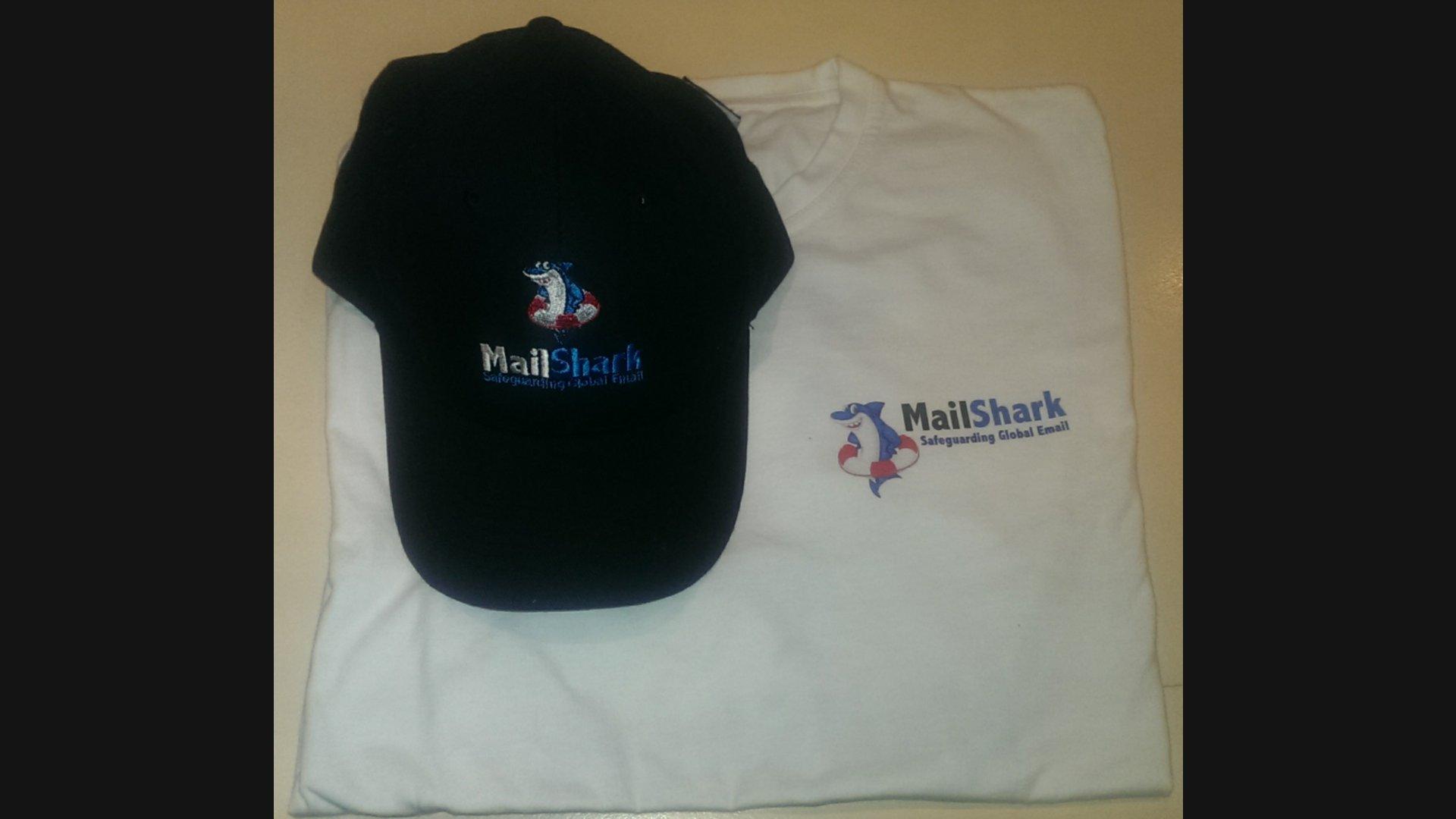 MailShark Shirt Cap