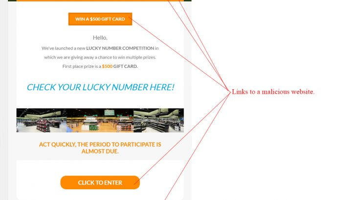 Dan Murphys Lucky Number Competition Scam